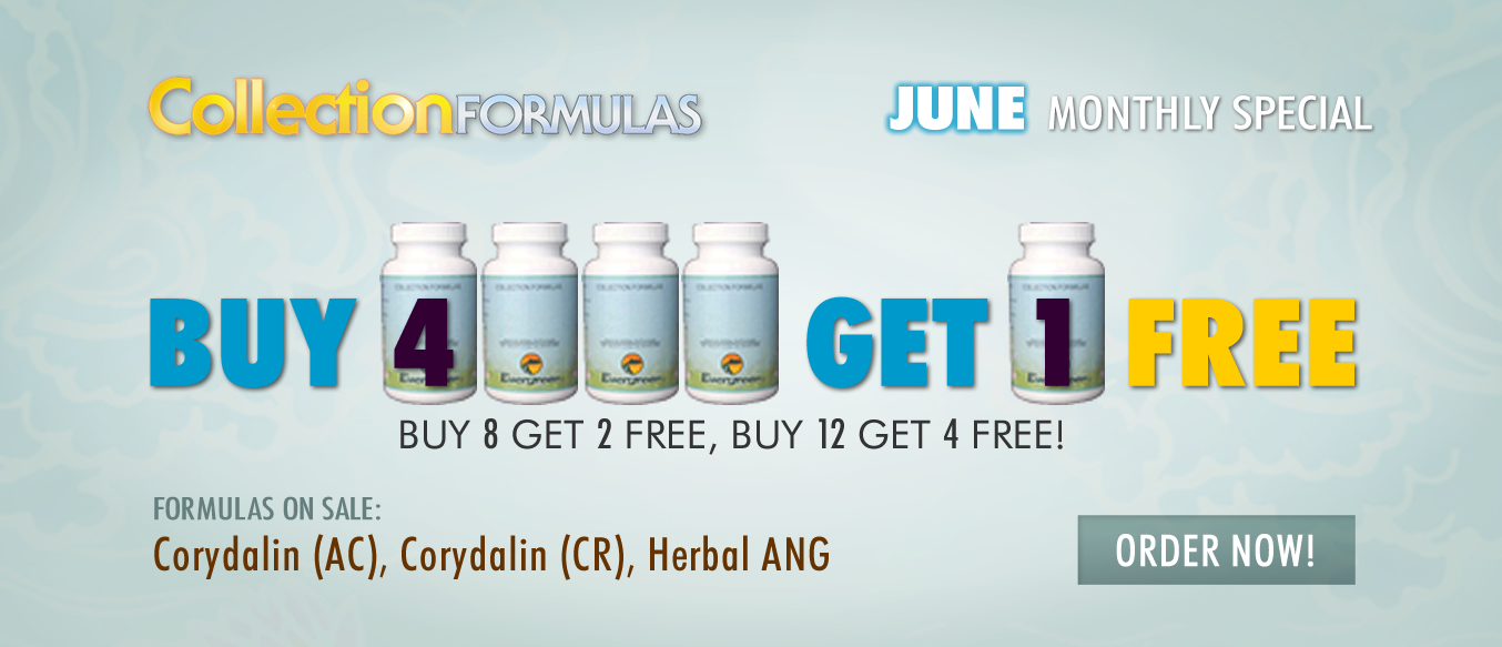 June Buy 4 Get 1 Free Monthly Special