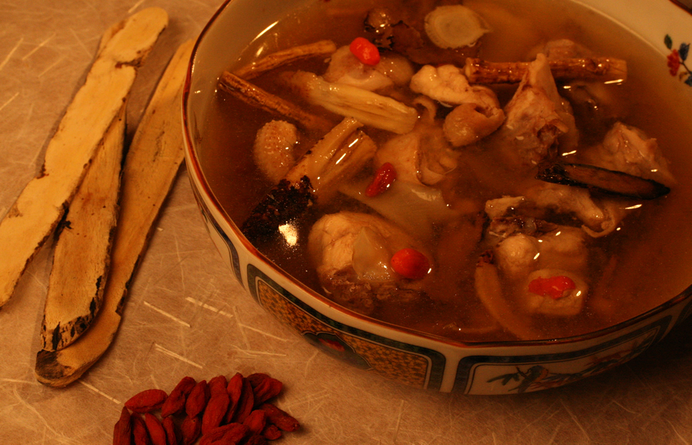 Healthy Receipe - Drunken Chicken Soup