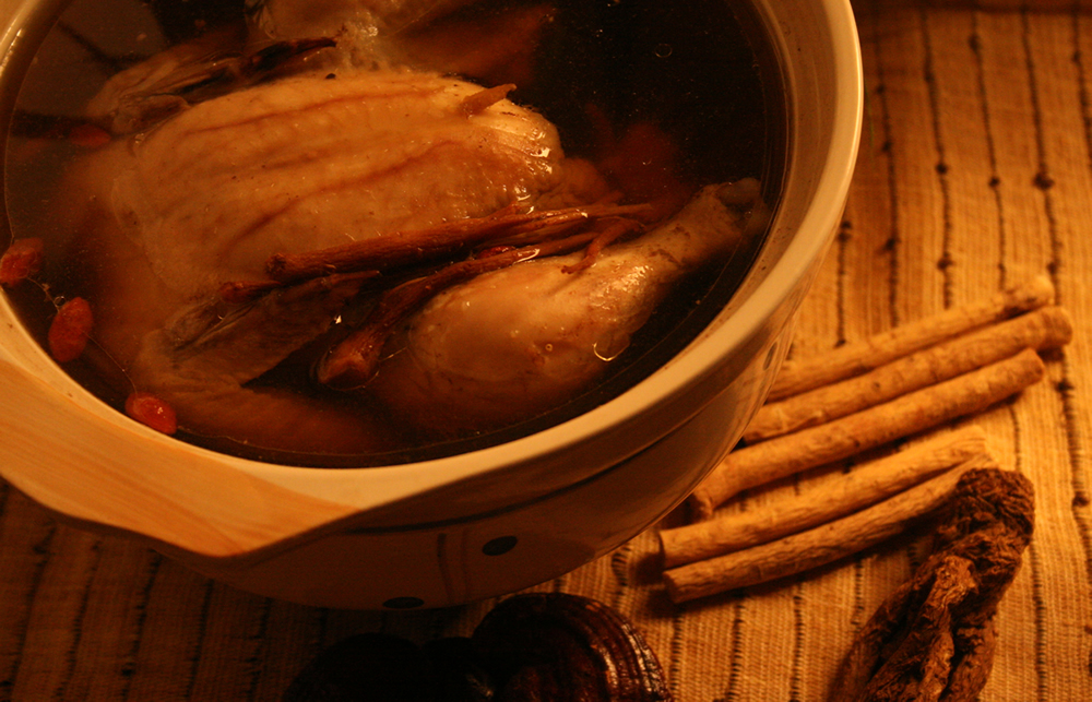 Healthy Receipe - Ginseng Chicken Soup