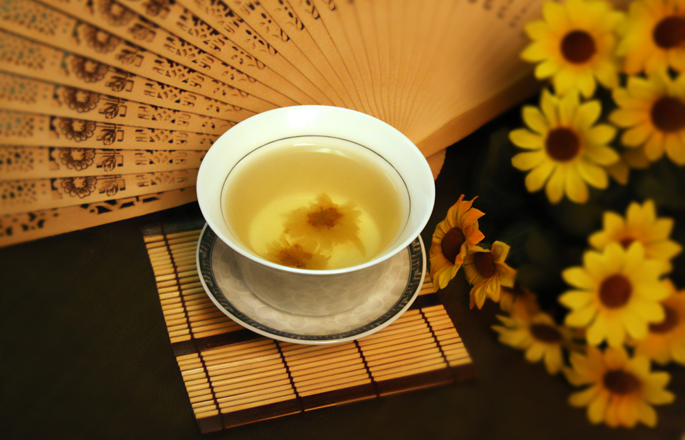 Healthy Receipe - Honey-Chrysanthemum Tea
