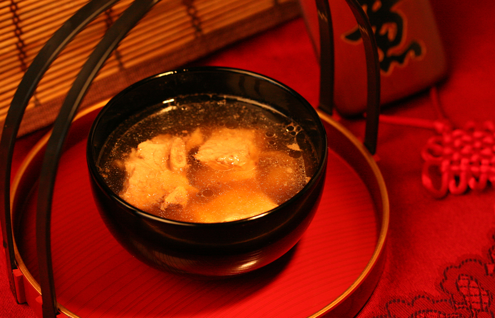 Healthy Receipe - Polygonum Spare Rib Soup
