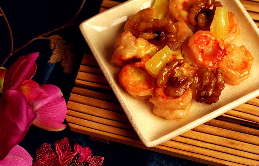 Healthy Receipe - Walnut Shrimp